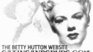 Watch Betty Hutton Blue Skies video
