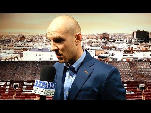 VLC NEWS - Entrevista a Philippe Senderos, nuevo jugador del Valencia CF (04/02/2014)