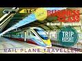ETS Business Class Trip Report - Rail Plane Traveller #ktmberhad #etsbusinessclass #trains #malaysia