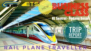 ETS Business Class Trip Report - Rail Plane Traveller #ktmberhad #etsbusinessclass #trains #malaysia