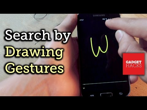 Use Google Gesture Search to Find Anything on Your Device by Drawing [How-To]
