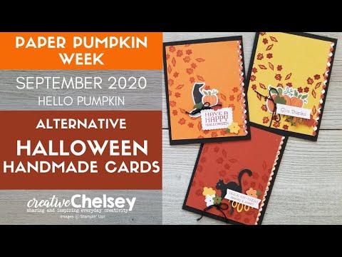 Halloween 2020 Paper Pumpkin September 2020 Paper Pumpkin (Hello Pumpkin) Alternative Halloween