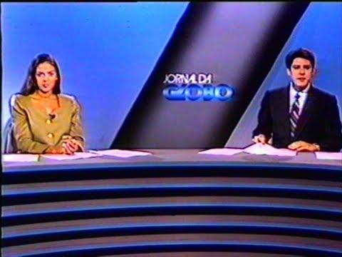 Jornal da Globo - Rede Globo (05/04/1993)