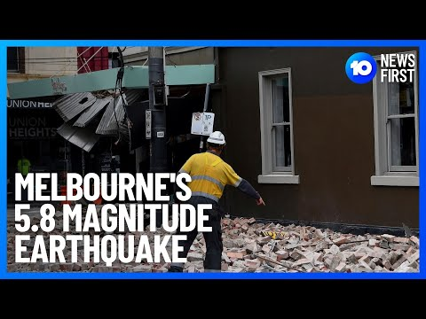 Melbourne's 6.0 Magnitude Earthquake Lowered To 5.8   10 News First