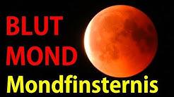 Blutmond und Mondfinsternis SUPERZOOM HD