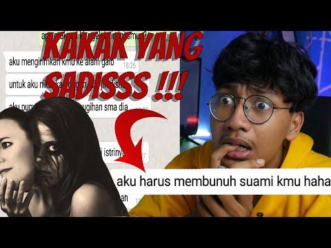 KAKAK KU TERNYATA PSIKOPAT!! - CHAT HISTORY HORROR INDONESIA