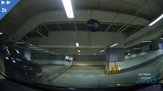 2分鐘看完荃灣廣場停車場(場內環境) 全高清 201708