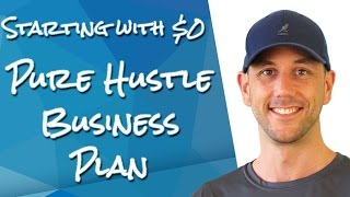 """If You Had To Start Over And Had No Money, What Would You Do?"" My Pure Hustle Online Business Plan"