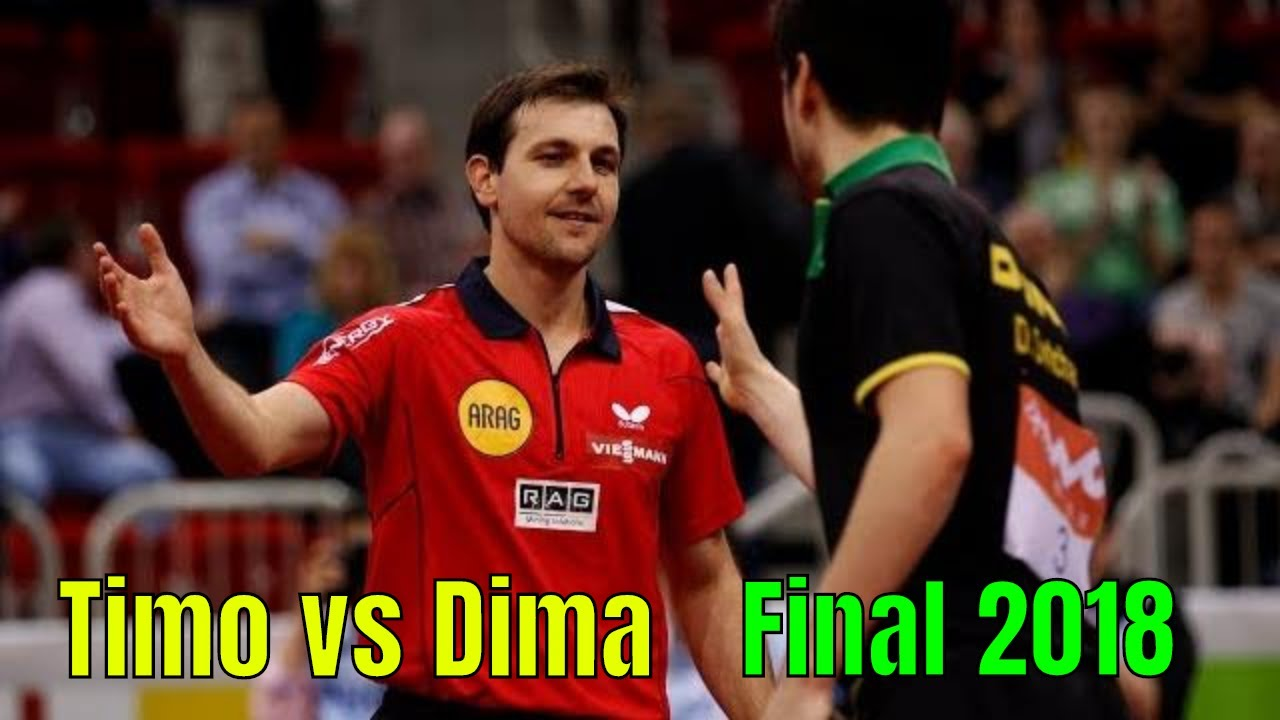 Download Timo Boll vs Dimitrij Ovtcharov (Final Europe Championship 2018)