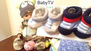 Zapf Creation Baby Born Boy Doll Haul from Walmart and Changing Video Stackems Little People