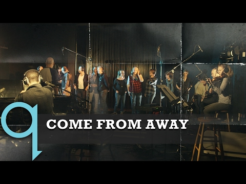 The cast of Come From Away perform