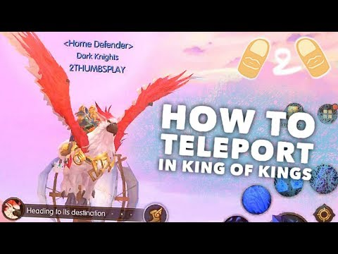 King Of Kings Quick Tips - How To Teleport, Dismount Pet, Exit Guild Castle Guide