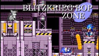 Sonic The Hedgehog Movie - Blitzkrieg Bop (Sega Genesis Remix)