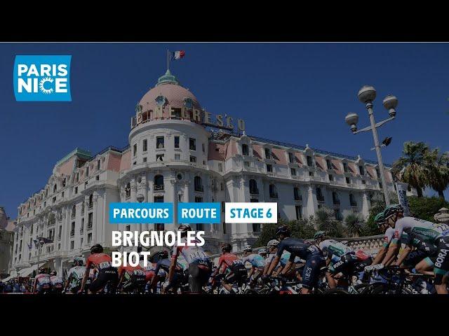 Paris-Nice 2021 - Découvrez l'étape 6
