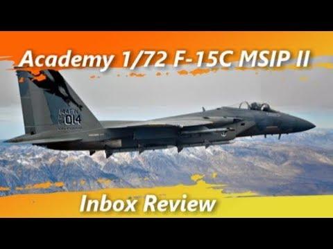 F-15c Eagle MSIP II Clifornia Academy 1/72 Full Build