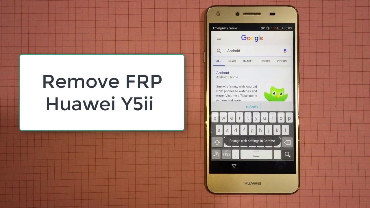 Bypass Google Account Huawei Y5ii Y3ii Remove Frp Youtube