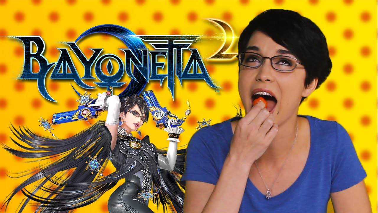 bayonetta 2 - hot pepper game review ft. pamela horton - youtube