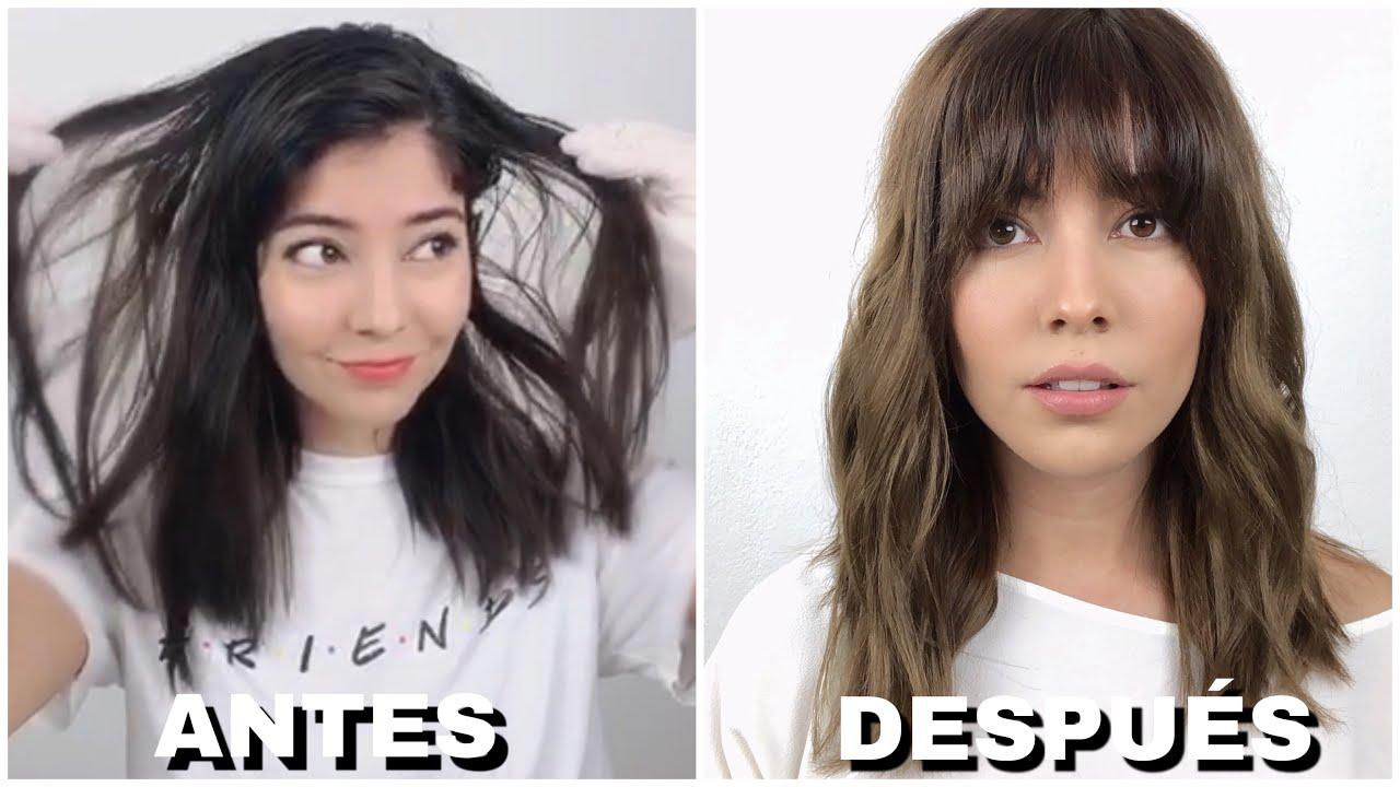 Decoloración Con Shampoo Balayage Youtube