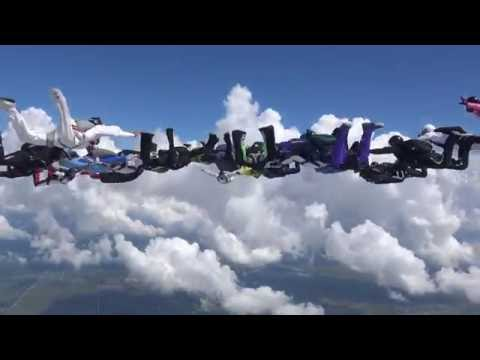 SOS Sequential World Record - 2016 Skydive Spaceland Houston
