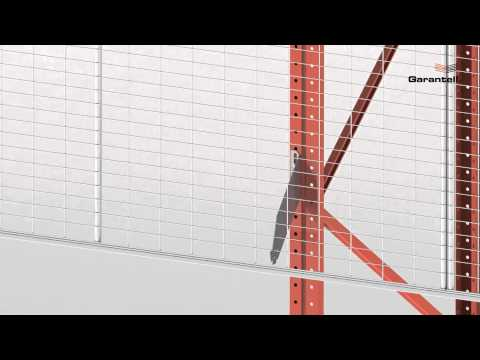 How to assemble GARANTELLS anti collapse mesh