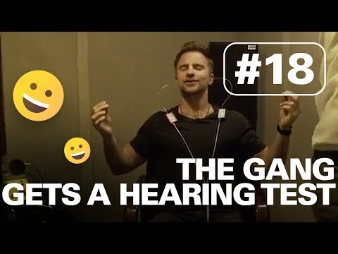 WHAT IT'S LIKE TO GET A HEARING TEST | HERE TO HEAR TOUR #18