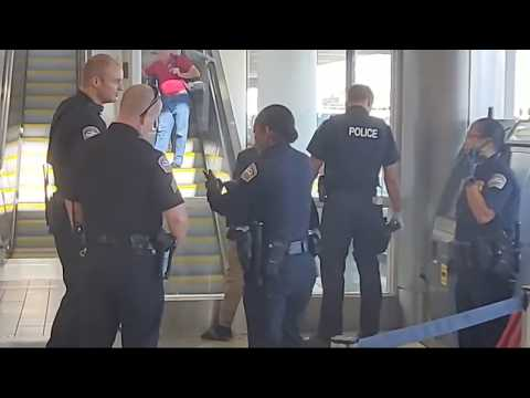 LAX Airport Police Man With $20000  Warrants