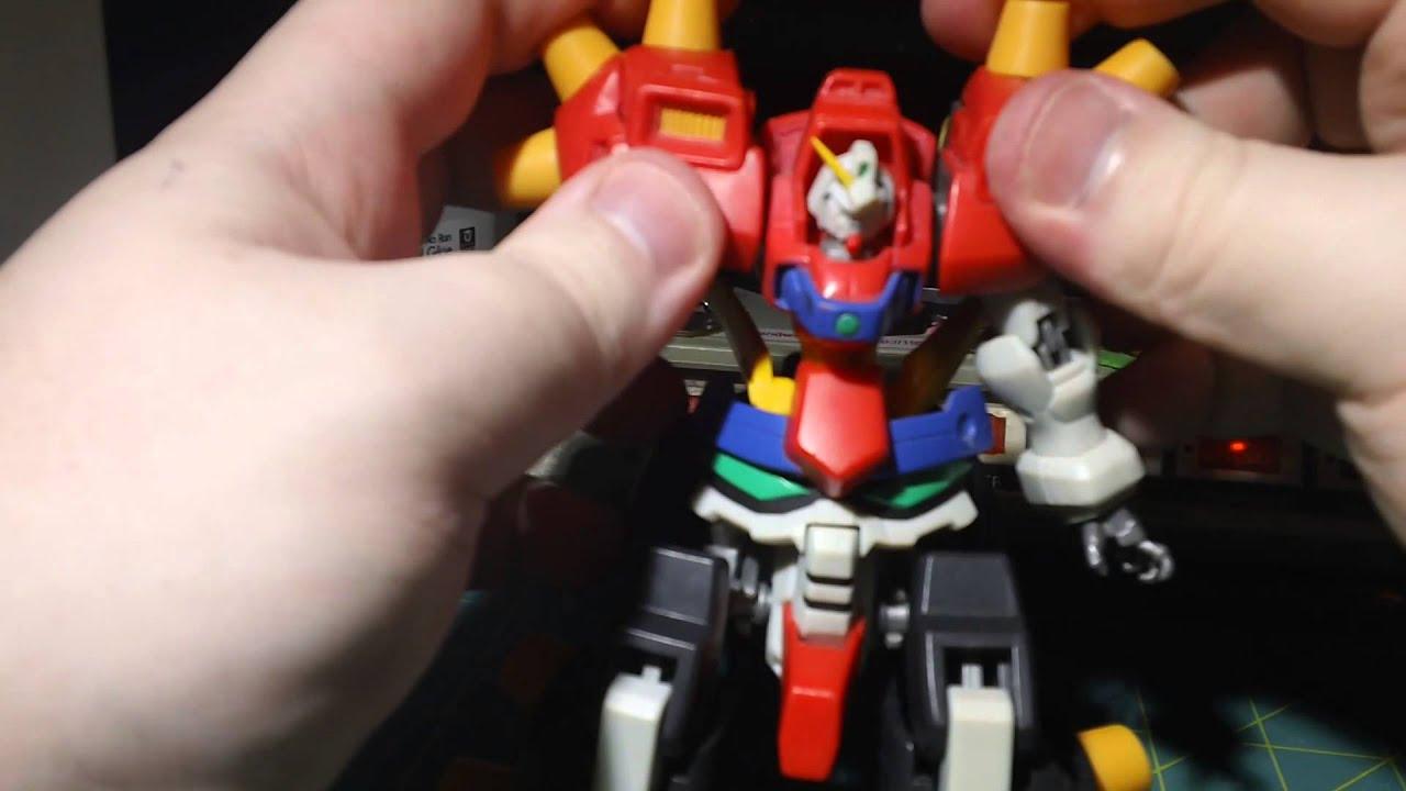 MSIA Devil/Dark Gundam Final Form Action Figure Review - YouTube