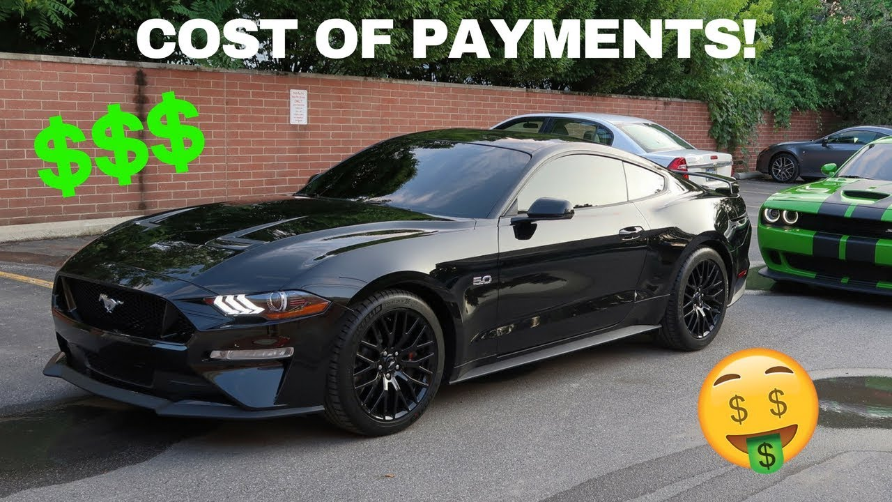 How Much My 2018 Ford Mustang Gt Cost To Truth