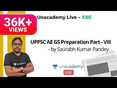 Download UPPSC AE GS Preparation Part - VIII | Saurabh Kumar Pandey