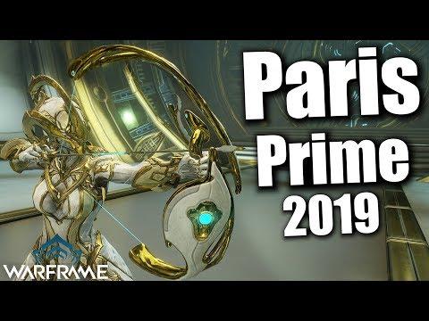 Warframe   Paris Prime [Buffed] (3 Forma Build) 2019