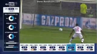Video Gol Pertandingan Olympique Lyonnais vs Zenit Petersburg