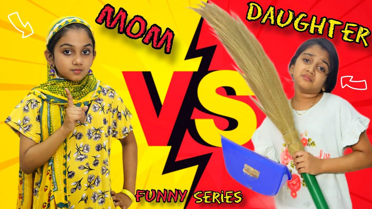 Download Mom VS Daughter | Funny series | Minshas world