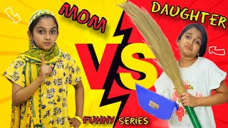 Mom VS Daughter   Funny series   Minshas world Thumb