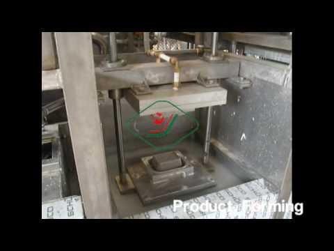 NANYA Mini Pulp Molding Tableware Thermoforming Machine