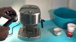 Ремонт кофеварки Delonghi EC330S(Слабое давление воды причины и способы их устранения., 2015-06-27T17:28:05.000Z)