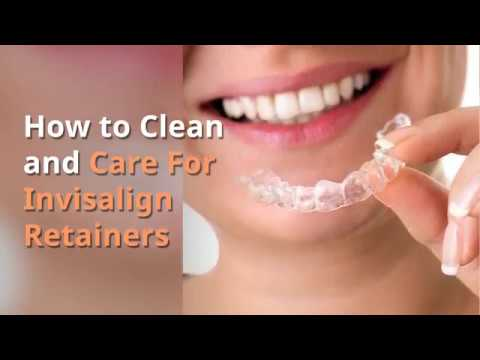 How to Clean and Care for Invisalign Retainers