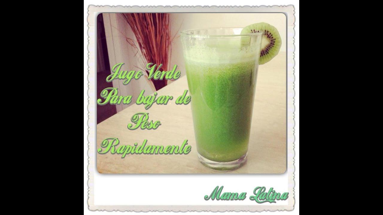 cuando tomar jugo verde para adelgazar