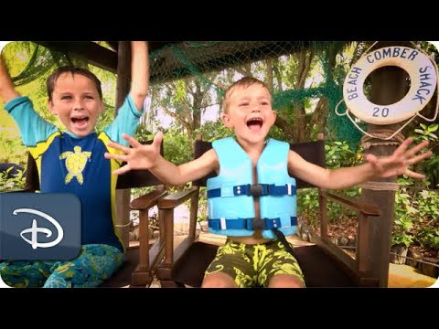 #DisneyKids: Little Ones Splash into Fun at Miss Adventure Falls | Walt Disney World