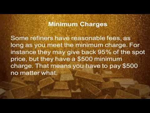 How To Make More Money (Part 4) - Gold Refiners