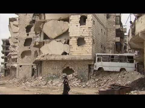 Aleppo residents desperate and depleted