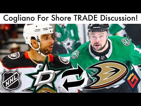 Andrew Cogliano For Devin Shore Trade Discussion! (Anaheim Ducks/Dallas Stars NHL Trade 2019)
