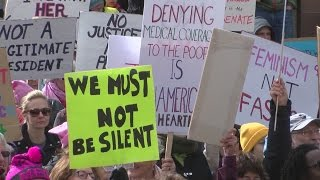 Thousands join Albuquerque rally on women's rights
