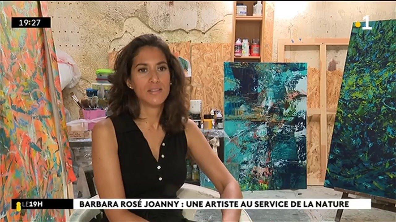 Barbara Rosé Joanny : une artiste au service de la nature