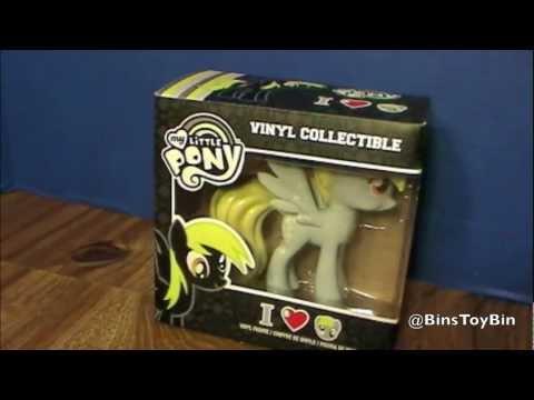 My Little Pony DERPY Hooves Funko Hot Topic Vinyl Figure MLP FiM Review! By Bin's Toy Bin