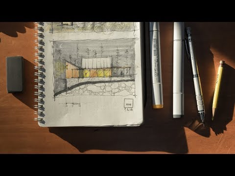 Inside My Sketchbook + An Architects Sketching Tools
