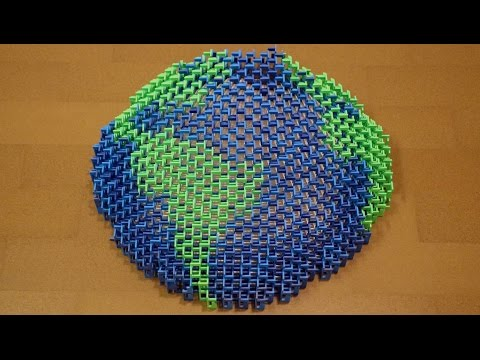 Earth is Our Home (8,000 Dominoes)