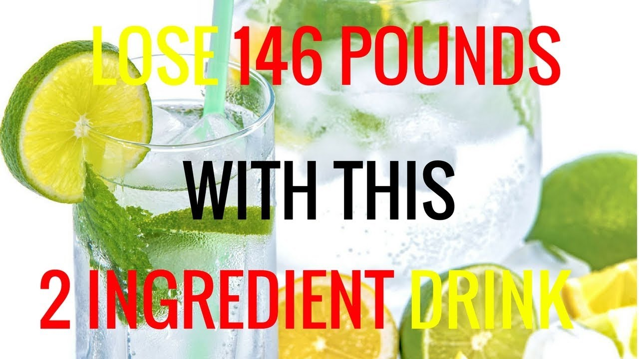 LOSE 146 POUNDS WITH THIS 2 INGREDIENT DRINK | BAKING SODA