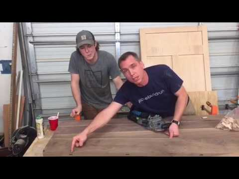 How To Do A Quick Tabletop Glue Up With Harp Design Co.