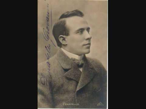 Giovanni Zenatello- Che gelida manina (1908)