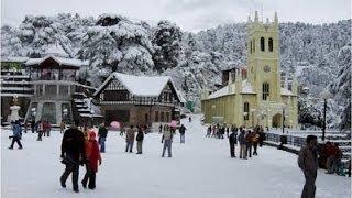 LIVE SNOWFALL IN SHIMLA   JAN